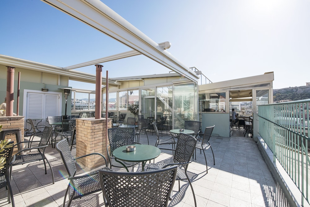 Terrace/Patio, Safestay Athens