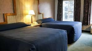 In-room safe, blackout drapes, iron/ironing board