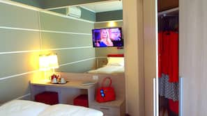 In-room safe, desk, cots/infant beds, wheelchair access