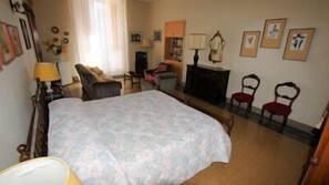Sábanas italianas Frette, escritorio, camas supletorias (de pago)