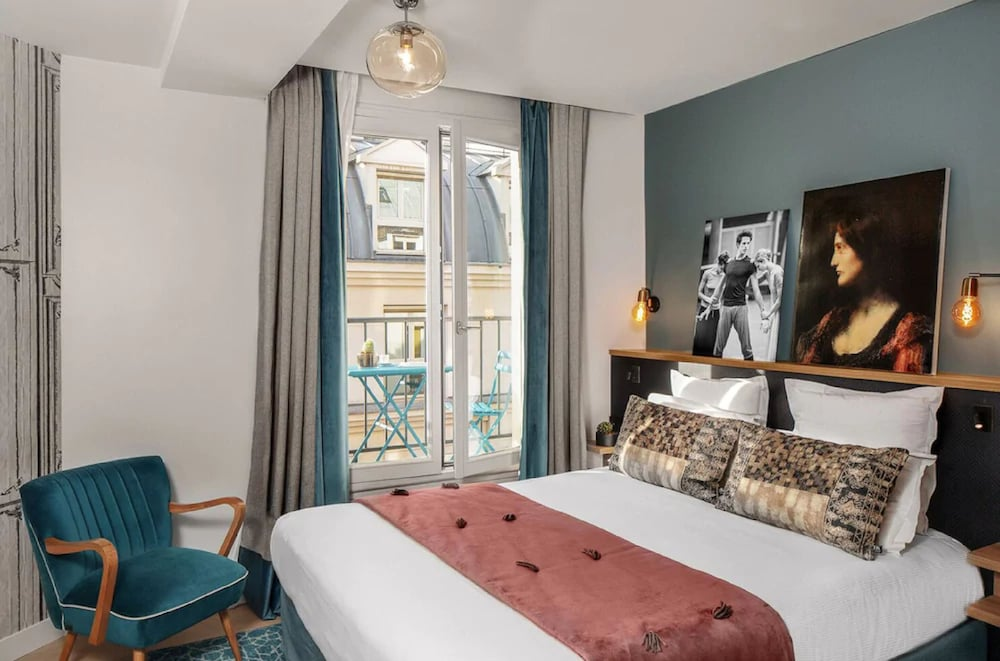 Room, Lyric Hotel Paris