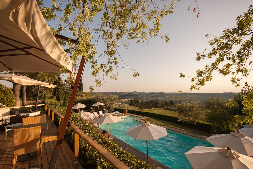 View from Property, Villa I Barronci Resort & Spa