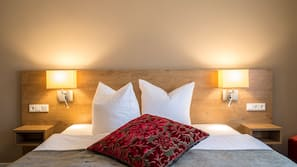 Allergikerbettwaren, individuell dekoriert, individuell eingerichtet