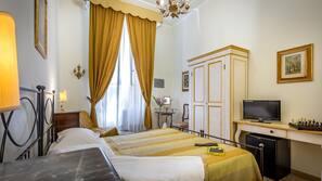 Colchones con acolchado adicional, caja fuerte, decoración individual