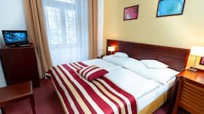 1 Schlafzimmer, Allergikerbettwaren, Betten mit Memory-Foam-Matratzen