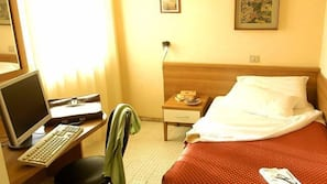 Een bureau, gratis wifi