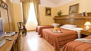 Biancheria da letto ipoallergenica, una cassaforte in camera, Wi-Fi