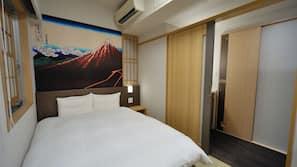 Egyptian cotton sheets, premium bedding, in-room safe, desk