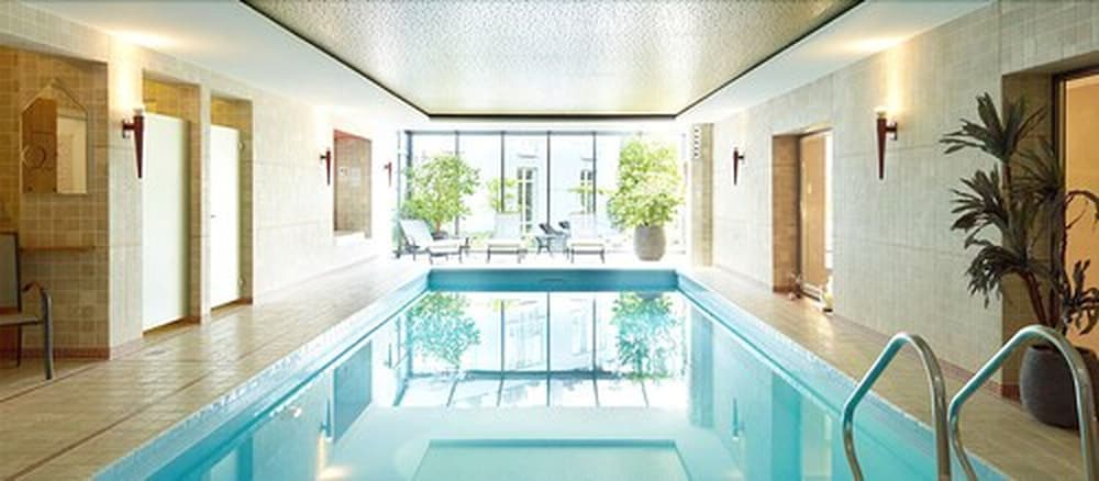 Indoor Pool, Hotel Villa Hügel