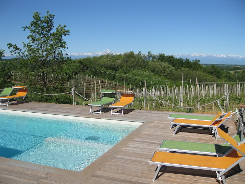 Outdoor Pool, Cascina Ponchietta