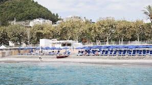Private beach nearby, beach cabanas, sun-loungers, beach umbrellas
