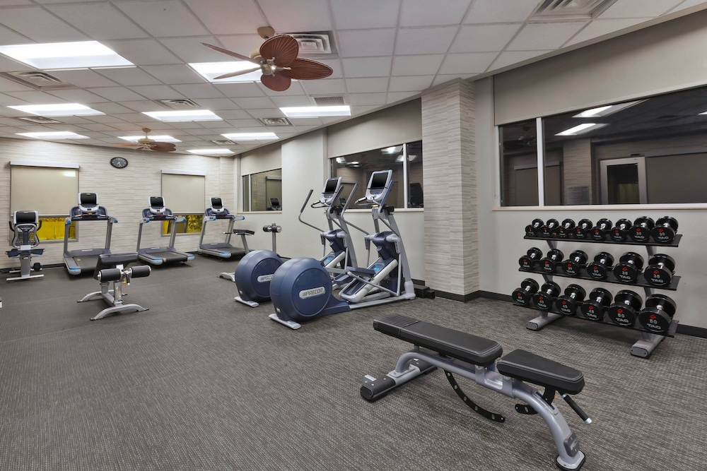Fitness Facility, Courtyard by Marriott Omaha La Vista