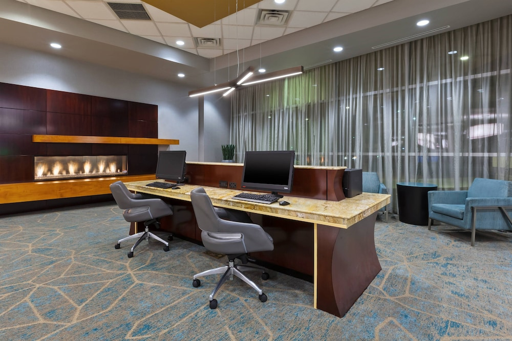 Business Center, Courtyard by Marriott Omaha La Vista