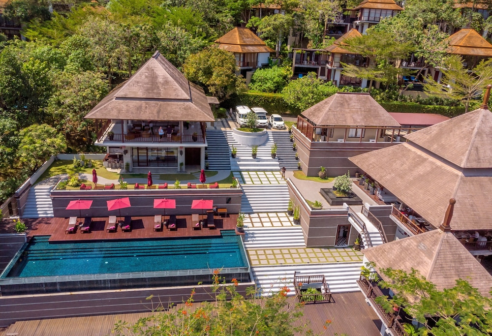 Aerial View, Villa Zolitude Resort & Spa