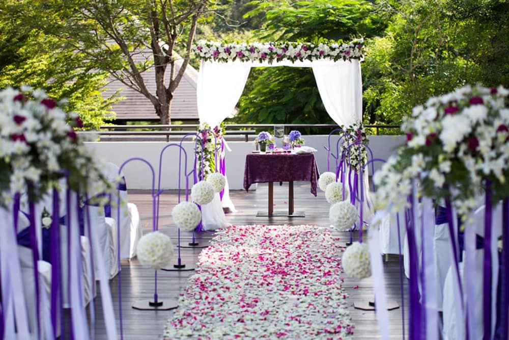 Outdoor Wedding Area, Villa Zolitude Resort & Spa
