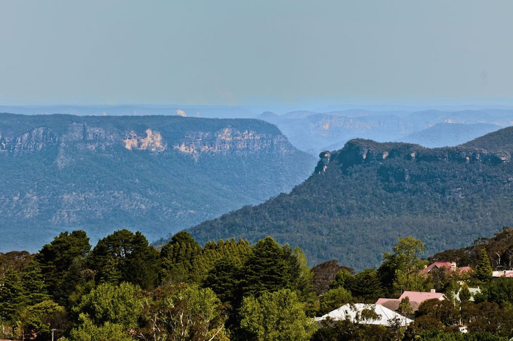 Mountain View, Hotel Mountain Heritage - Blue Mountains