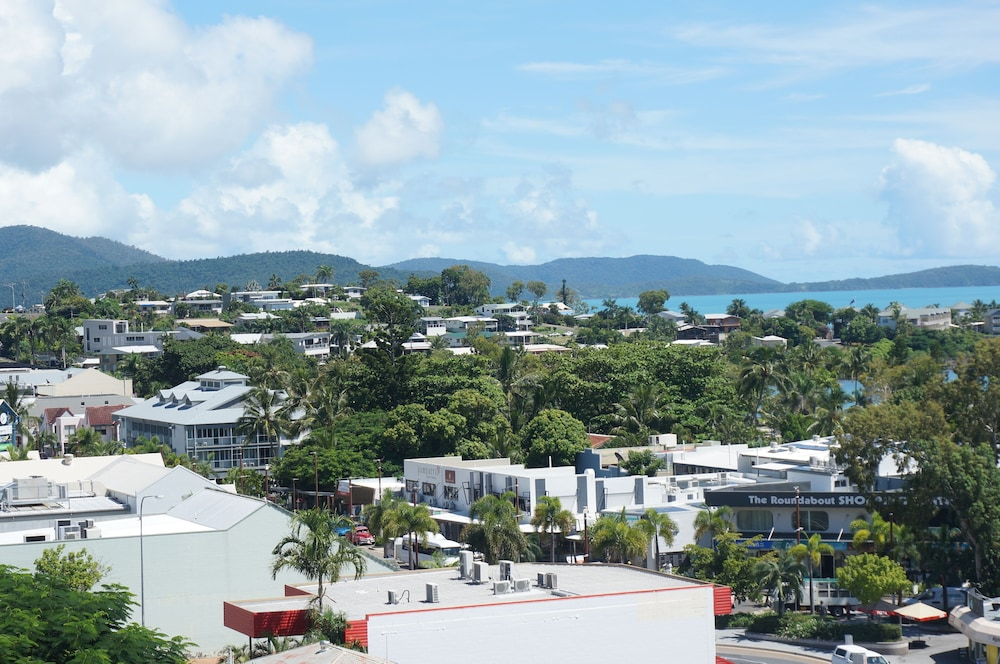 City View from Property, Whitsunday Terraces Hotel Airlie Beach