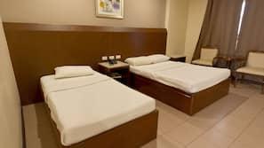 In-room safe, desk, blackout drapes, cribs/infant beds