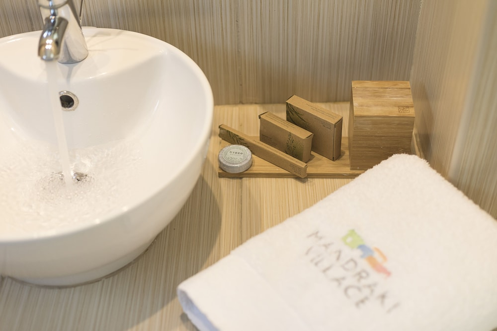 Bathroom Amenities, Mandraki Village Boutique Hotel