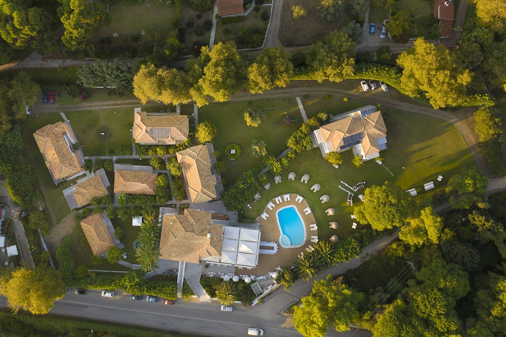Aerial View, Mandraki Village Boutique Hotel