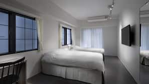 高級寢具、羽絨被、Select Comfort 床墊、書桌