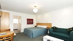 Desk, iron/ironing board, cots/infant beds, free WiFi