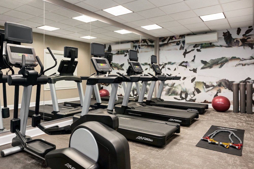 Fitness Facility, Residence Inn Marriott Hamilton