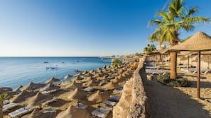 전용 해변, 무료 해변 셔틀, 비치 파라솔, 비치 타월
