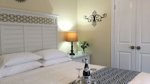Egyptian cotton sheets, premium bedding, blackout drapes