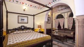Premium bedding, in-room safe, desk, bed sheets