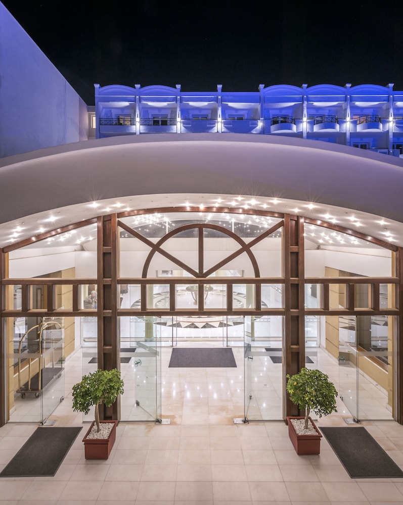 Property Entrance, Mitsis Grand Hotel Beach Hotel