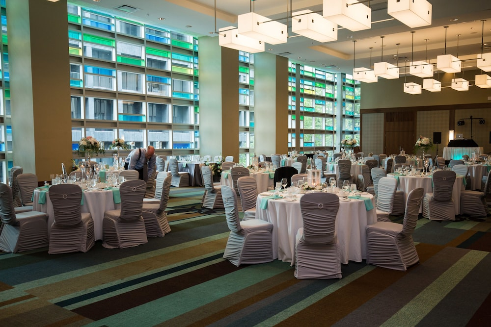 Ballroom, Coast Coal Harbour Vancouver Hotel by APA