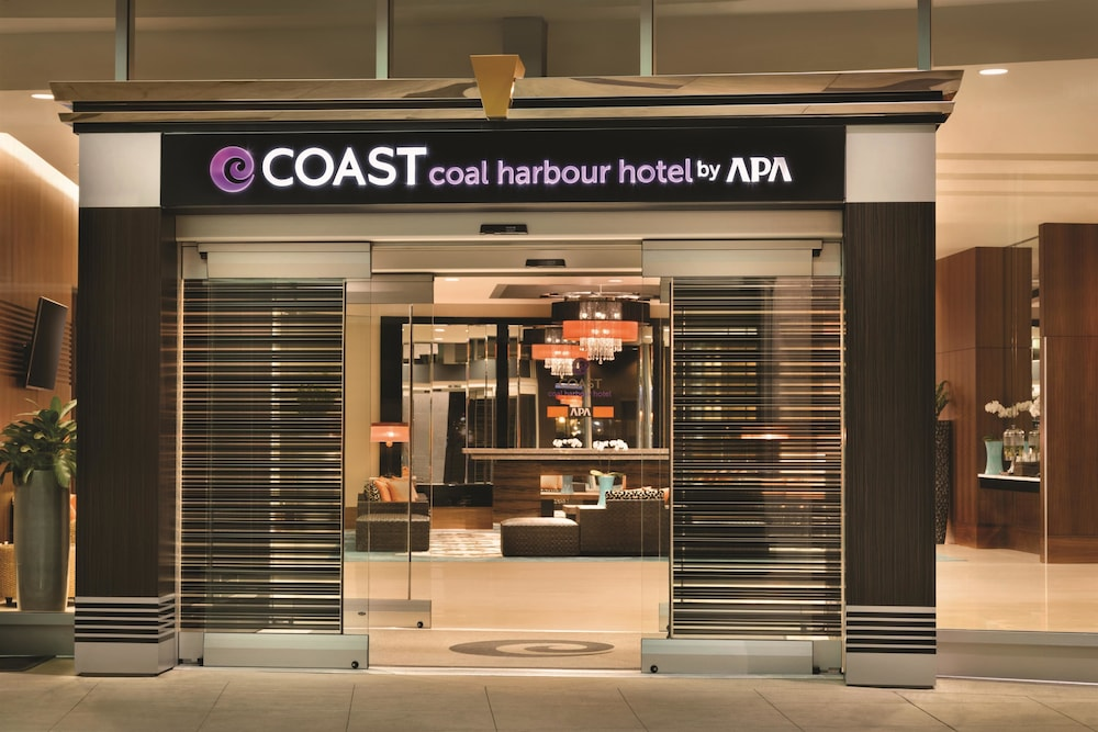 Front of Property, Coast Coal Harbour Vancouver Hotel by APA