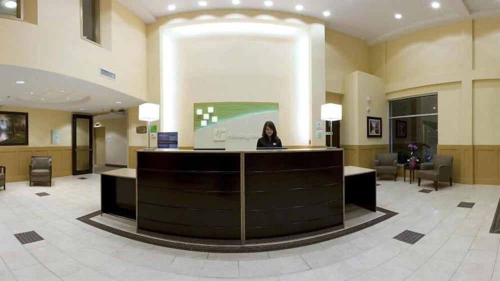 Reception, Holiday Inn Hotel & Suites Surrey East Cloverdale, an IHG Hotel
