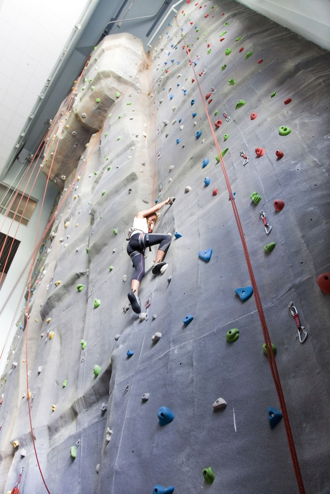 Rock Climbing Wall - Indoor, Norefjell Ski & Spa, an Ascend Hotel Collection Member