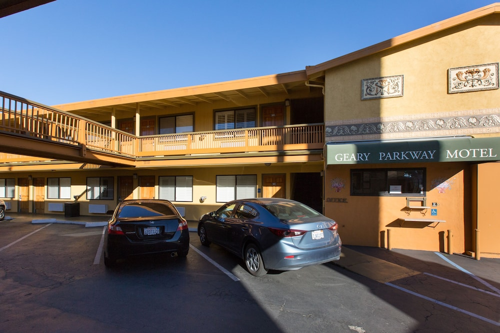Parking, Geary Parkway Motel