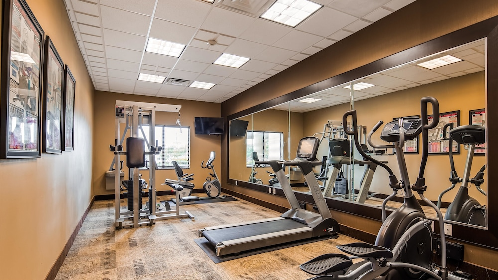 Fitness Facility, Best Western Plus Texoma Hotel & Suites