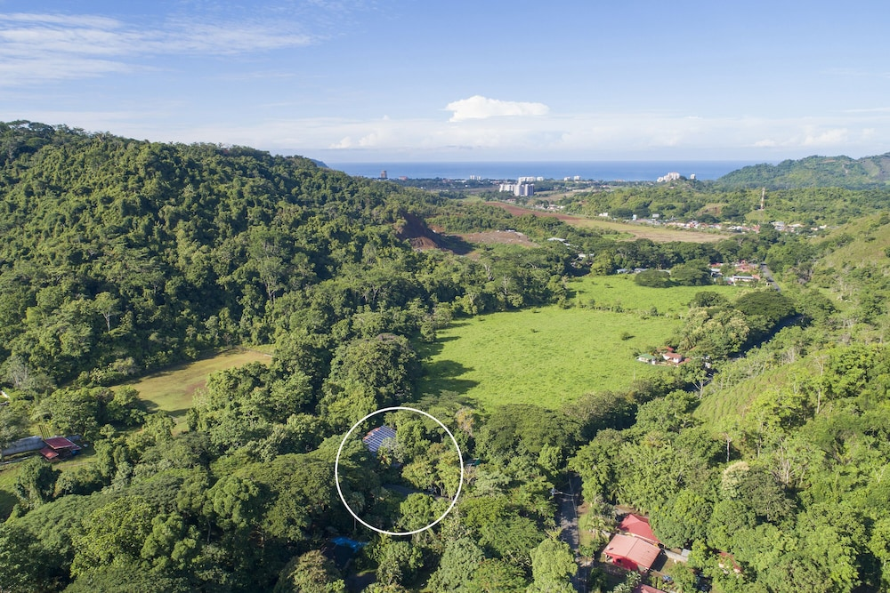 Property Grounds, Pumilio Mountain & Ocean Hotel