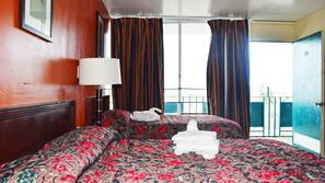 Pillowtop beds, iron/ironing board, bed sheets