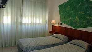 Sengetøy av topp kvalitet, safe på rommet, lydisolert og gratis wi-fi