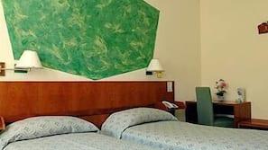 Biancheria da letto di alta qualità, una cassaforte in camera