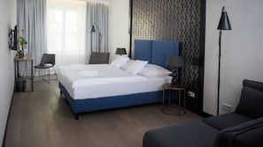 Minibar, Zimmersafe, Verdunkelungsvorhänge, kostenloses WLAN