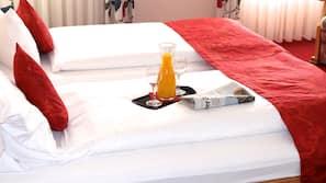 Allergikerbettwaren, Zimmersafe, kostenloses WLAN