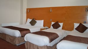 Pillow-top beds, desk, iron/ironing board, free WiFi