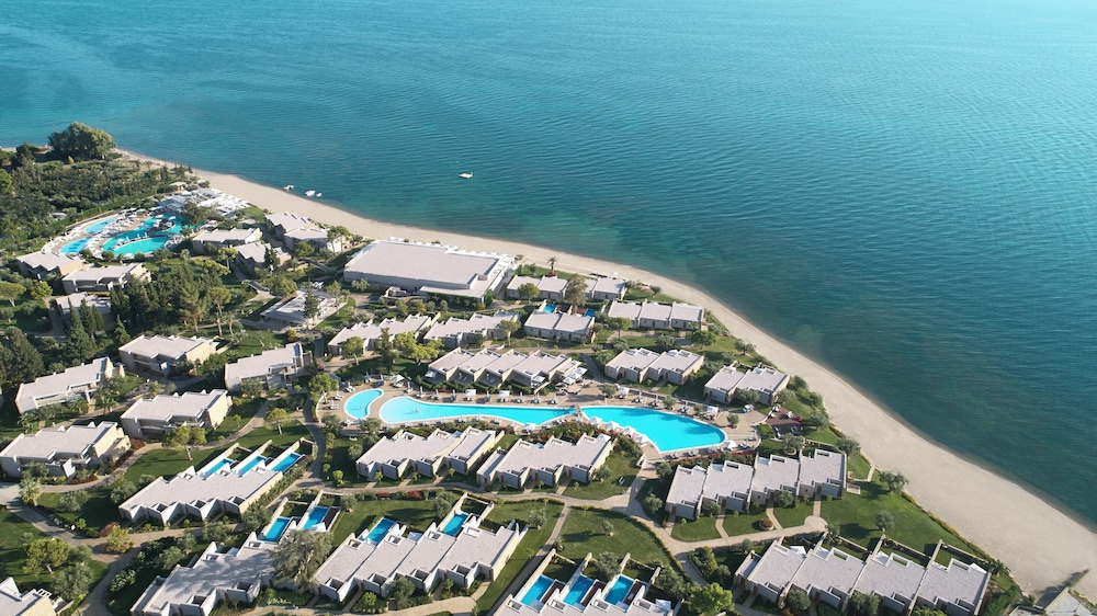 Aerial View, Ikos Olivia - All Inclusive