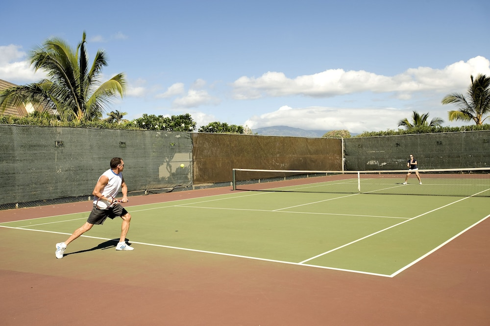 Tennis Court, Maui Kamaole by CRH
