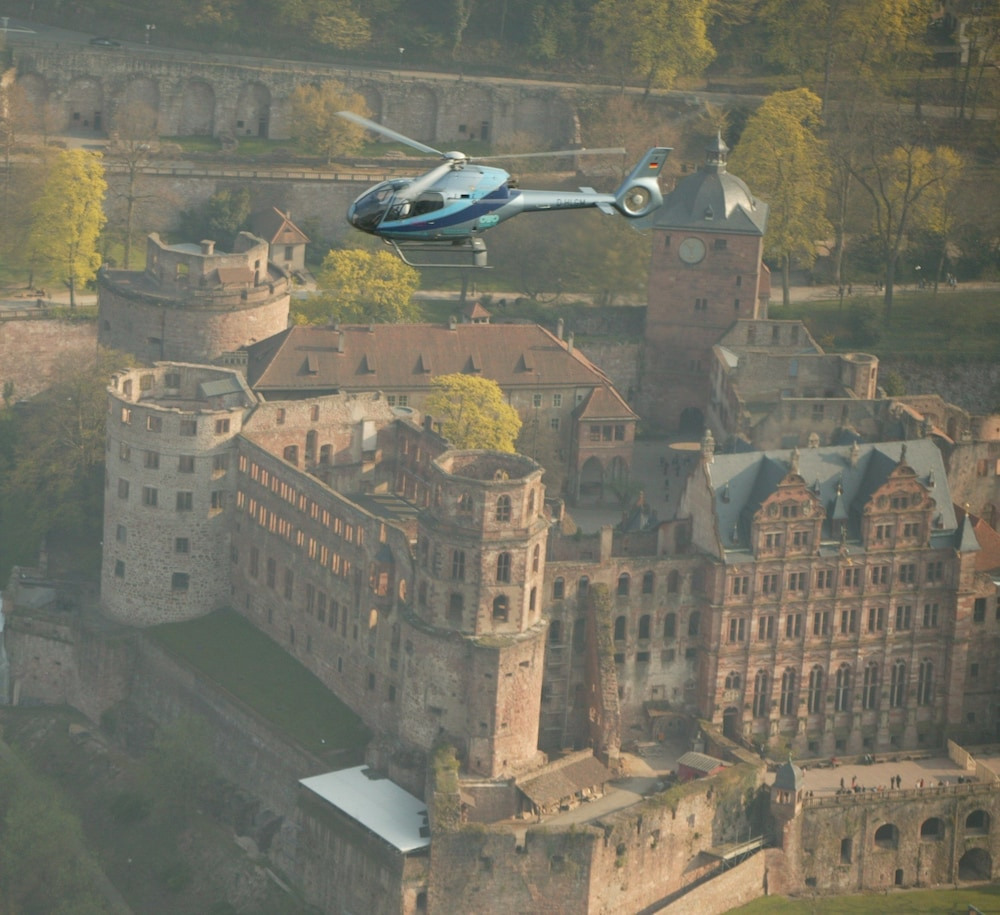 Helicopter/Plane Tours, Boutique Hotel Heidelberg Suites - Small Luxury Hotels