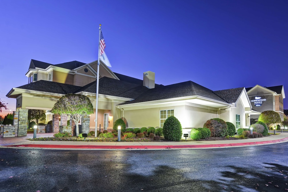 Front of Property - Evening/Night, Homewood Suites by Hilton Fayetteville