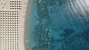 Spiaggia privata nelle vicinanze, teli da spiaggia
