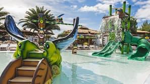 5 piscines extérieures